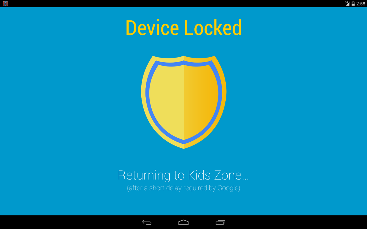 Kids Zone Parental Controls- screenshot
