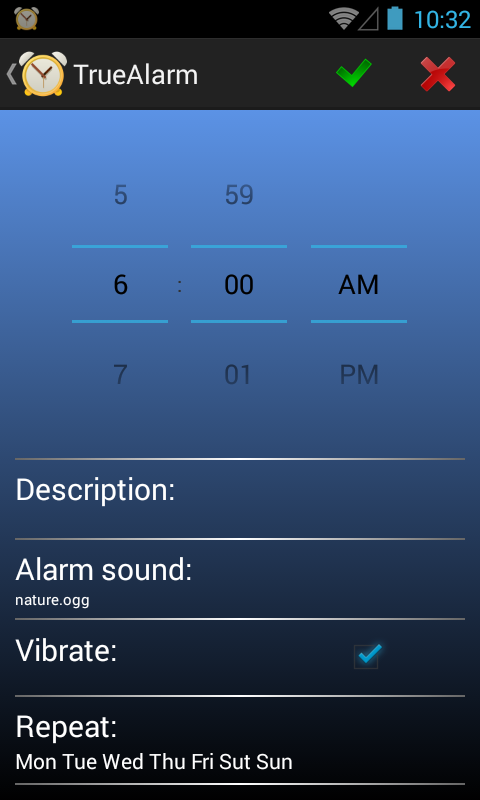 Alarm Clock free- screenshot