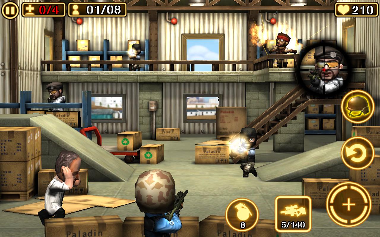Tải Game Gun Strike 2 Hack Full