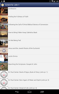 Catholic Study Bible App - screenshot thumbnail