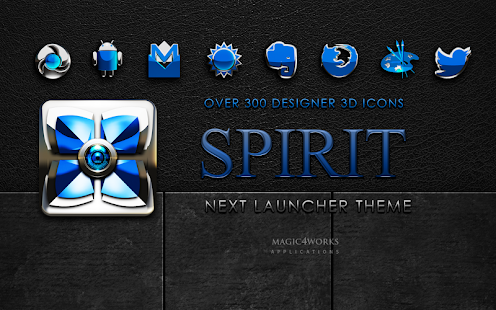 Next Launcher Theme Spirit
