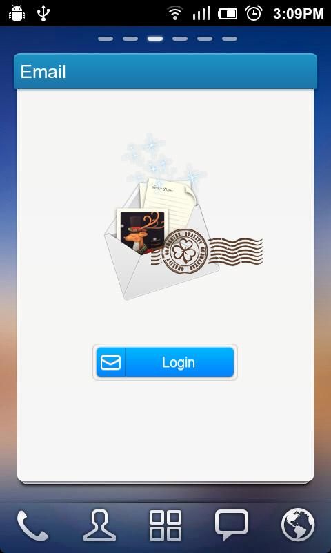 GO Email Widget- screenshot