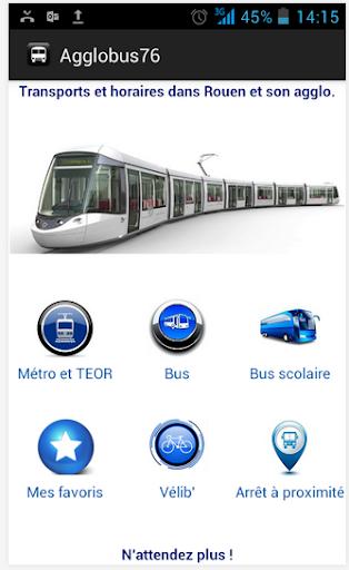 Rouen Bus TCAR Pro