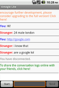 Omegle Android FREE - screenshot thumbnail