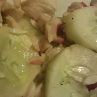 Asian Crab and Cuke Salad