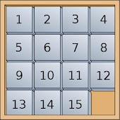 15 puzzle - Logic game