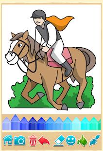 cavalo jogo de colorir apps no google play