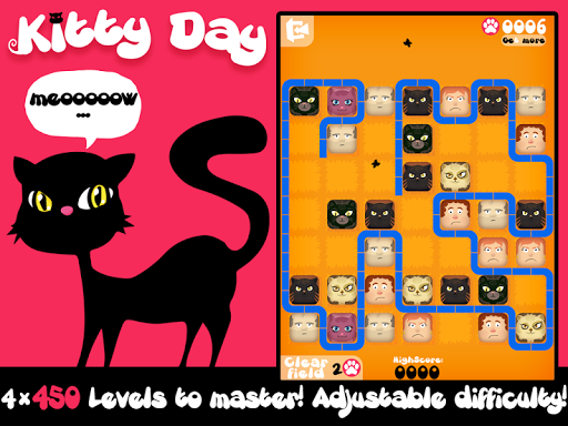 Kitty Day - Strategy Puzzle