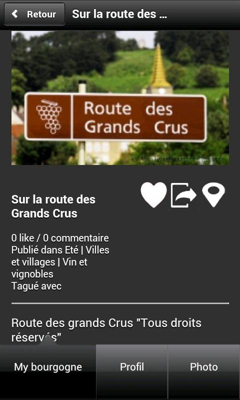 My Bourgogne- screenshot