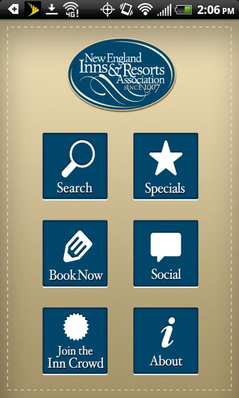 New England Inns & Resorts - screenshot