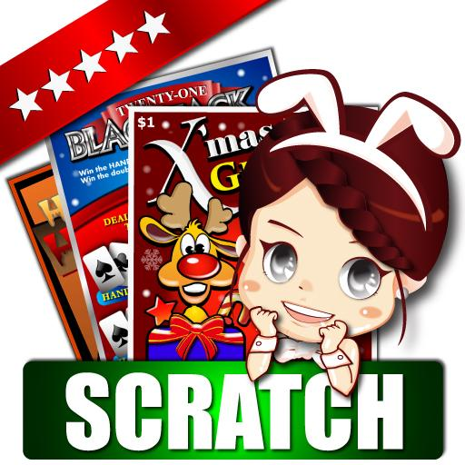 Lotto Scratch Off -Illustrator
