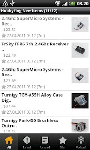 HobbyKing New Items - screenshot thumbnail