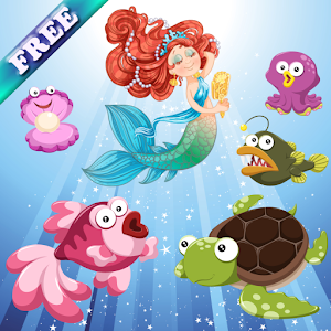 Mermaids and Fishes for Kids for PC and MAC