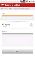 Screenshot of Nex-Tech Classifieds