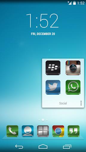 Glass - Icon Pack  screenshots 4