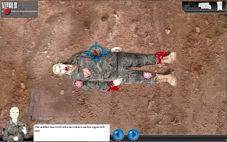 Screenshot of Wounded Soldier