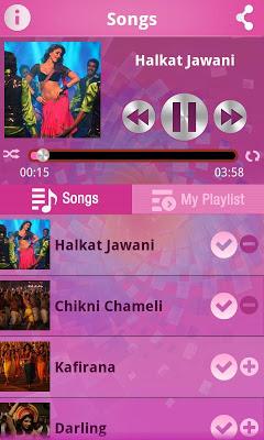 Halkat Chikni Songs - screenshot