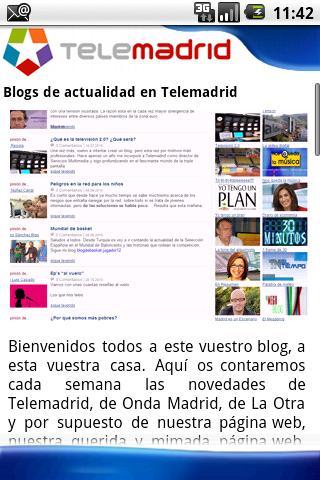 Telemadrid.es: captura de pantalla