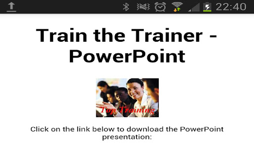 Train The Trainer PowerPoint