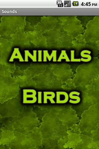 Animal sound - Zoological Park - screenshot
