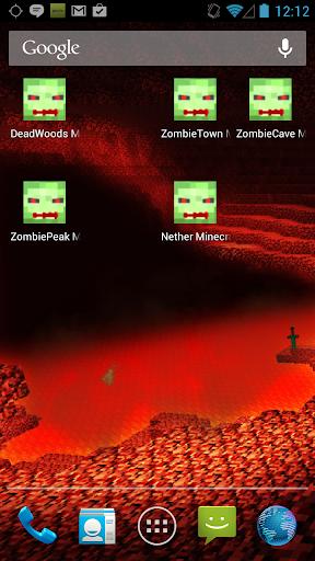Nether Minecraft Wallpaper