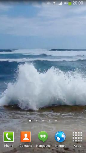 【免費個人化App】Ocean Waves Live Wallpaper 22-APP點子