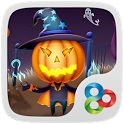 (SALE) Pumpkin Head GO Theme icon