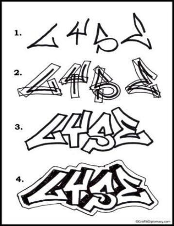 Download How To Draw Graffiti Letters Google Play Softwares