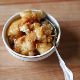 Maple Syrup Dumplings.