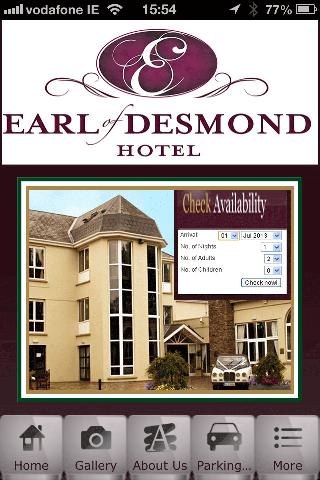 Earl of Desmond Hotel
