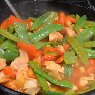 Light Sweet And Sour Chicken