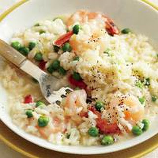 Risotto with Shrimp and Peas Recipe