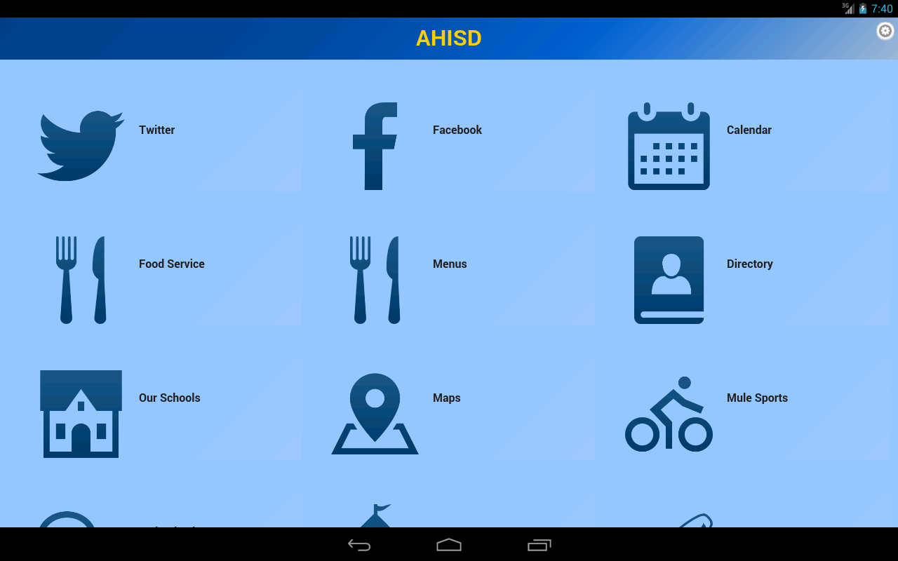 AHISD- screenshot