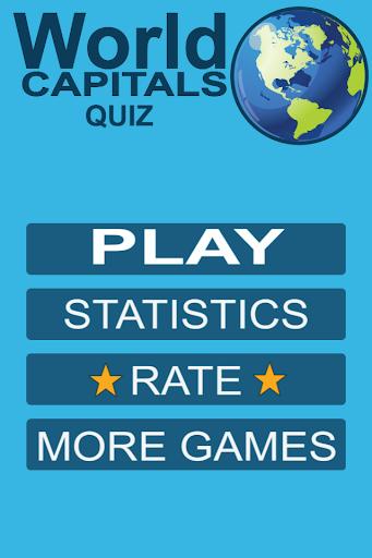 World Capitals Geography Quiz