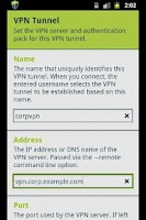 Screenshot of FEAT VPN for OpenVPN