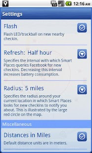 Smart Places Checkin - screenshot thumbnail