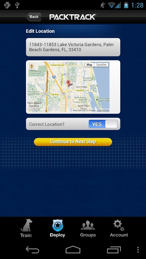 PackTrack- screenshot