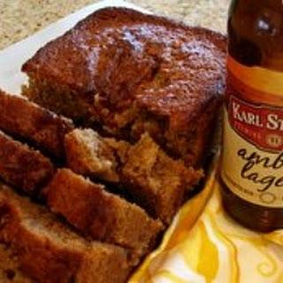 Amber Lager Cinnamon Bread.