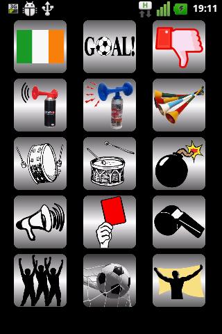 Ireland Soccer Fan