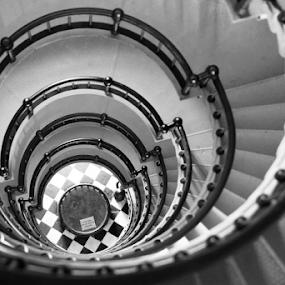 by Patrick Sherlock - Black & White Buildings & Architecture