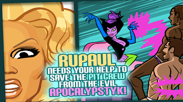 Screenshot of RuPaul's Drag Race: Dragopolis