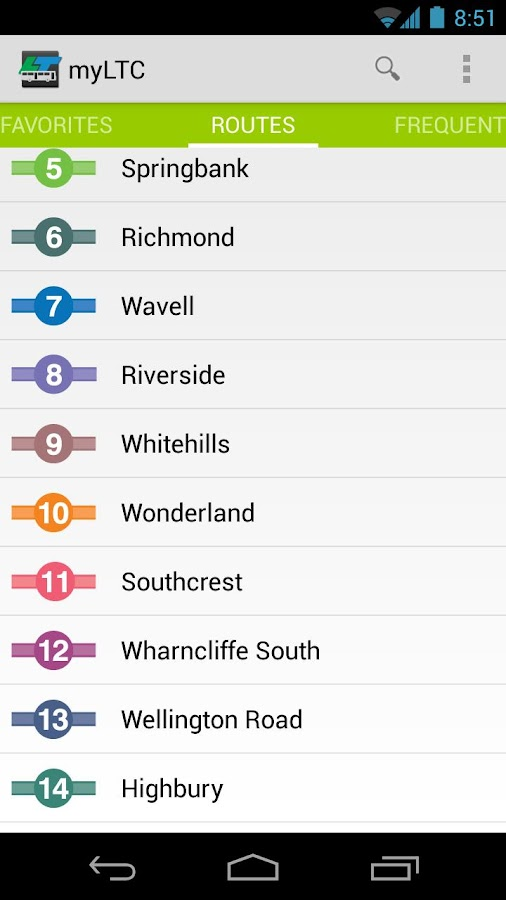 London Transit (myLTC) - screenshot