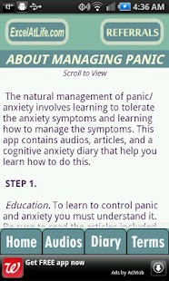 Stop Panic & Anxiety Self-Help - screenshot thumbnail
