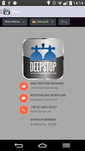 【免費運動App】DEEPSTOP- Tauchausrüstungen-APP點子