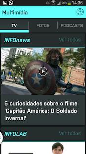 INFO Notícias - screenshot thumbnail