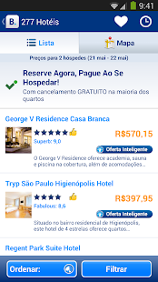 Booking.com: 430.000+ hotéis - screenshot thumbnail