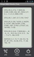 Screenshot of Simple NMEA Monitor (Free)