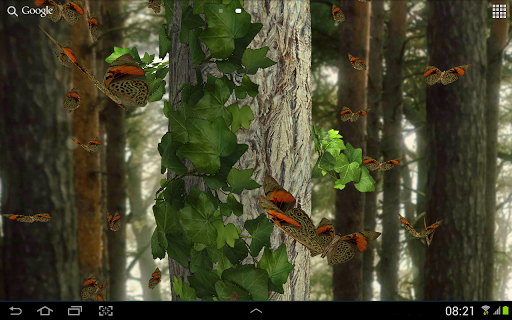 Butterflies 3D live wallpaper android