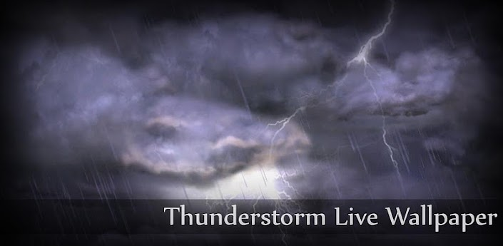 Thunderstorm Live Wallpaper apk