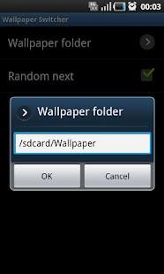 Wallpaper Switcher Widget